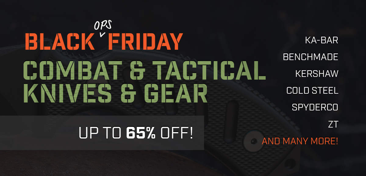 Black Ops Friday 2017 Combat Sale