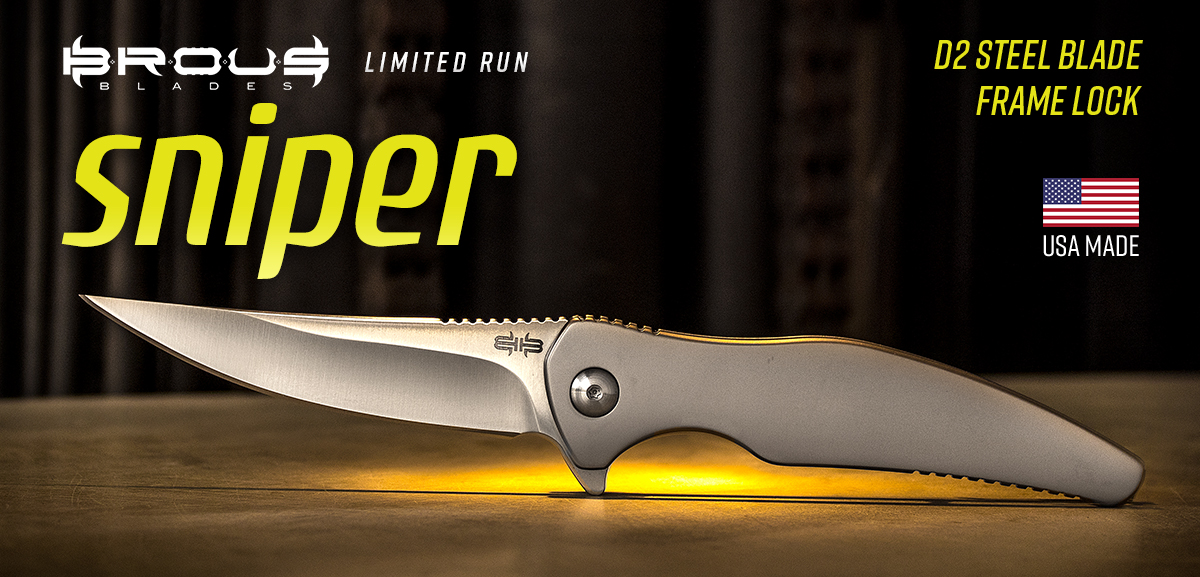 Brous Blades Sniper Flippers