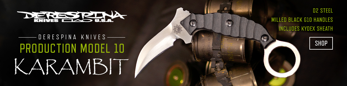 Derespina Knives Production Model 10
