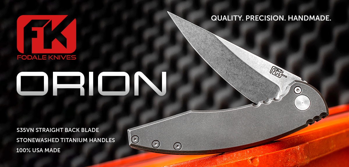 Fodale Knives Orion Flipper