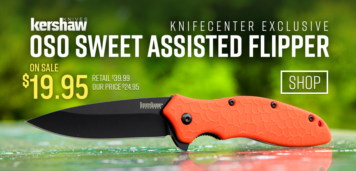 KnifeCenter Exclusive Kershaw Oso Sweet