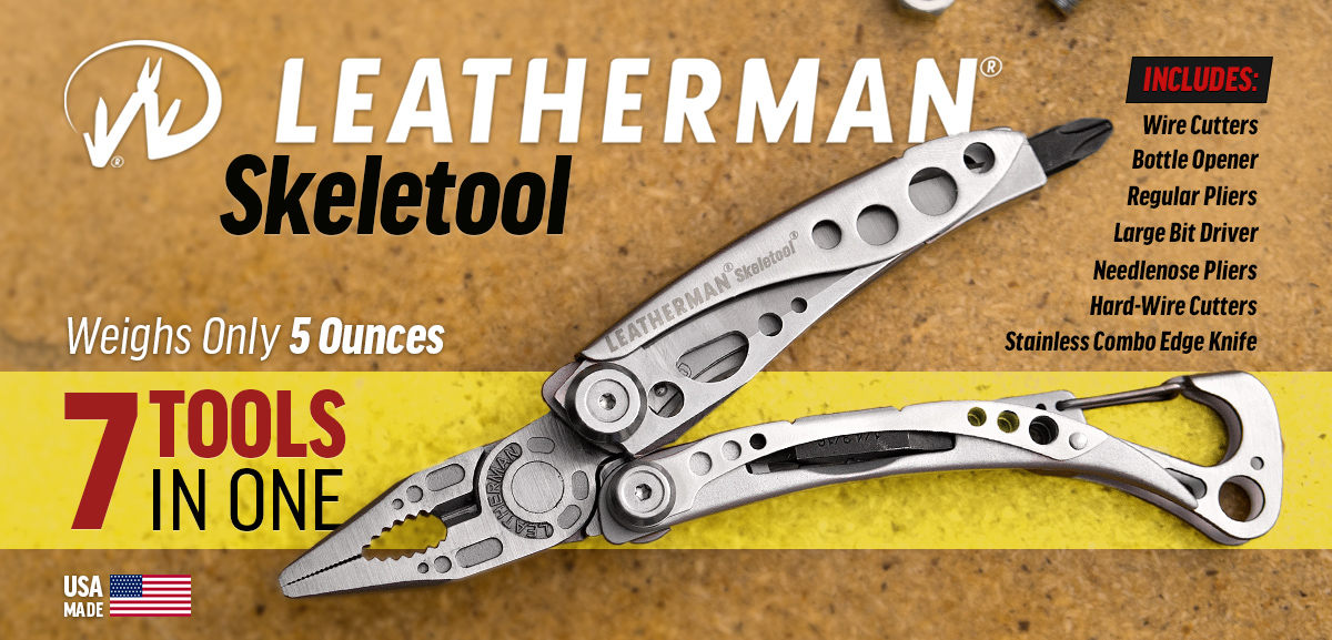 Leatherman Skeletool Pocket-Size Multi-Tool
