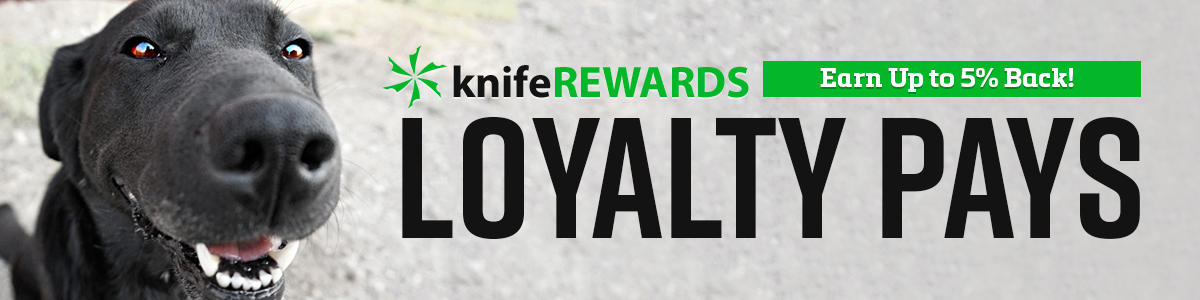 Loyalty Pays - knifeREWARDS