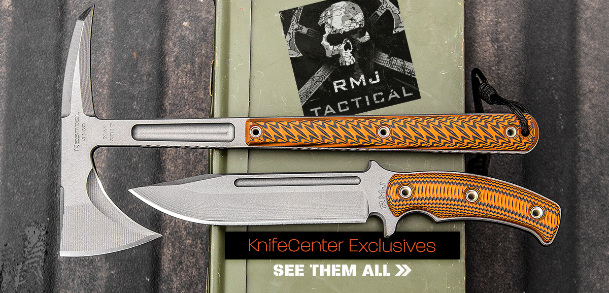 RMJ Tactical KnifeCenter Exclusives