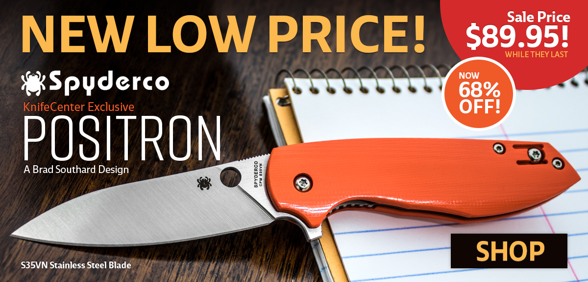 Spyderco Positron Reduced Price