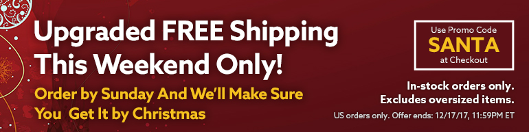 Free Expedited Shipping