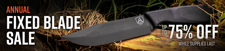 Annual Fixed Blade Sale