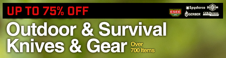 Outdoor & Survival Knives & Gear