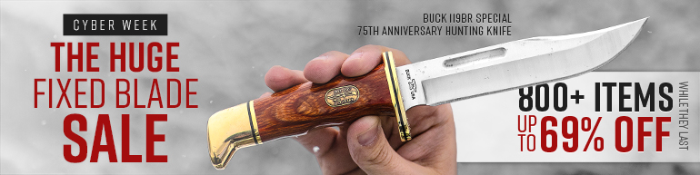 The HUGE Fixed Blade Sale