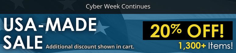 USA Made Cyber Week Sale