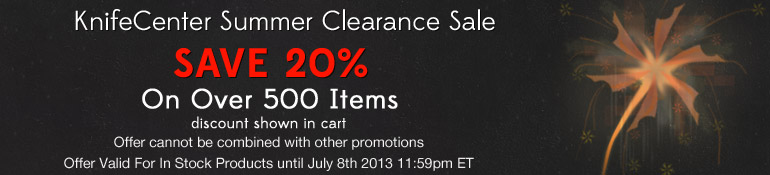 KnifeCenter Summer Clearance
