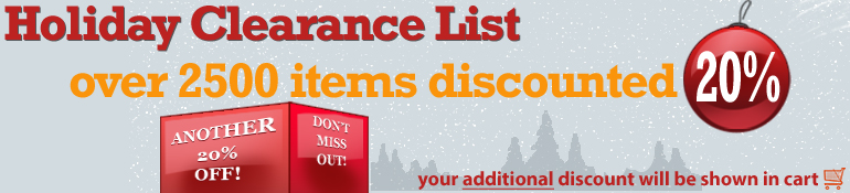 Holiday Clearance 2013 Deals