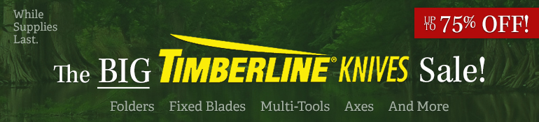 Timberline Knives Sale