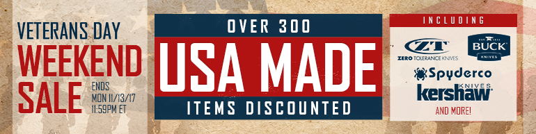 Veterans Day Weekend Sale