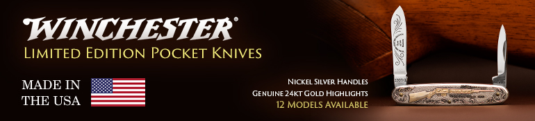 Winchester Limited Edition Pocket Knives